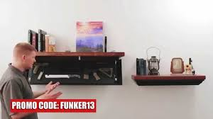 Hidden Gun Coat Rack Tactical Walls Hide Your Guns and Weapons in Plain Sight YouTube 73