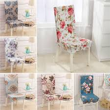 high elastic dining chair covers spandex stretch room kitchen stain proof chair protector cover for chairs slipcover decor in chair cover from home garden