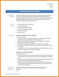 Volunteer Work On Resume Best Ideas Of Resume Volunteer Work Resume Template With Volunteer 32