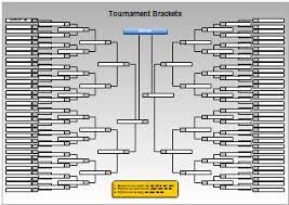 Tournament Charts And Bracket Charts