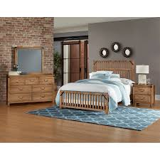 Natural Maple Bedroom Furniture Sedgwick Natural Maple Slat Bed Bernie Phyls Furniture By