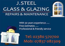 j steel glass and glazing