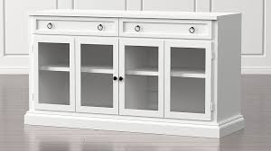 white media console furniture. Cameo 62\ White Media Console Furniture