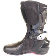 ke totem 2 0 black leather motorcycle boot