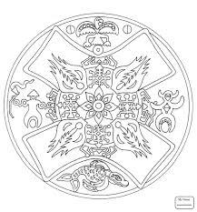 Aztec Coloring Pages Lezincnyccom