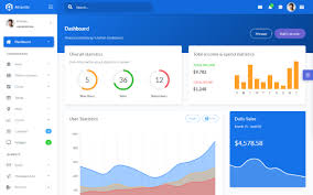 Chart Icon Bootstrap Atlantis Bootstrap 4 Admin Template
