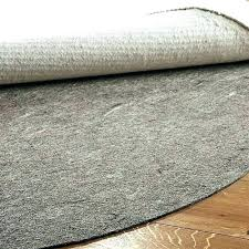 felt and rubber rug pad which side goes down or best vs surging natural furniture remarkable