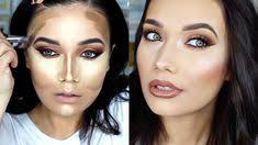 warm amber burgundy smoky eye full face makeup tutorial chocolate bar palette full