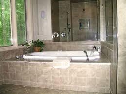 tiled bathtub