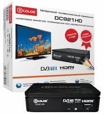 TV-<b>тюнер D</b>-<b>COLOR</b> DC921HD — купить по выгодной цене на ...
