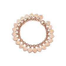 catchy return to tiffany heart tag bracelet multi in rose gold medium necklace toggle earring choker key pendant charm review large