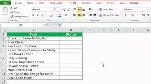 check list example checklist in excel how to create checklist in excel using