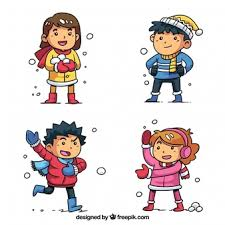 child looking in mirror clipart. winter collection of kids playing snowballs child looking in mirror clipart k