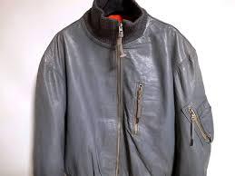 germany army leather flight jacket air force pilot vintage 30s40s50s usn royal navy raf royal
