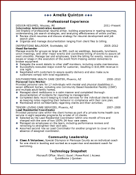 Good Resume Example For College Student Unique Little Experience