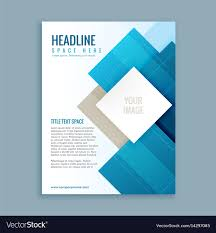 Ebrochure Template Modern Business Brochure Template Flyer
