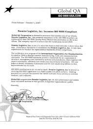 Premier Logistics Company Policies Orlando Florida Premier