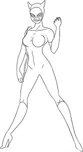 Catwoman 12 Super H Ros Coloriages Imprimer Dessin De Catwoman Imprimer Coloriage De Catwoman L