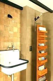 narrow bathroom shelf narrow bathroom shelf tall shelves bath pivots to mirror corner a white tall narrow bathroom shelf