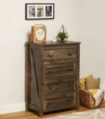 tall dresser chest. Image Is Loading Tall-Dresser-Chest-4-Drawer-Country-Farmhouse-Rustic- Tall Dresser Chest