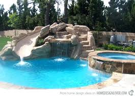 swimming pool designs with slides cool design cool swimming pools with slides72 pools
