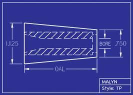 Sandblasting Nozzle Chart Boron Carbide Sandblasting Nozzles And Inserts Tapered
