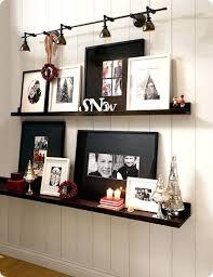 pottery barn wall shelves wood bookshelves studio