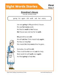 Kindergarten Reading Comprehension Worksheets | Page 3 of 6 | Have ...