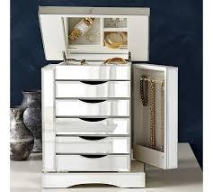 ultimate mirrored jewelry box large