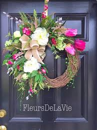 spring wreath for front doorSummer Wreath For Front Door  Home Design Ideas and Inspiration