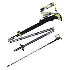 <b>New</b> Collapsible Five Fold Trekking Hiking Ski <b>Poles Carbon</b> Fiber ...