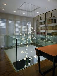CUSTOM EXTRA LONG PENDANT CHANDELIER, PEARL SHELL Modern chandelier for  high cei - Pendant Lighting