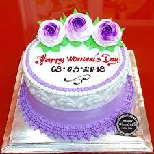 Bánh kem màu tím quà tặng 8/3 quà tặng 20/10 quà tặng 20/11 AD181078 - Bánh  Kem Cẩm Châu - Bánh Kem Cẩm Châu