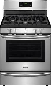 frigidaire gallery series fggf3035rf stainless steel front view
