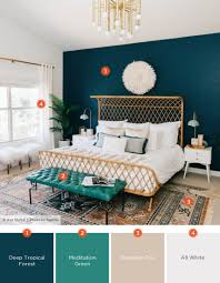 sources rennai hoefer via ave styles improve a boho inspired bedroom by introducing new colors