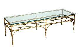 bamboo coffee table faux bamboo gold leaf coffee table round bamboo coffee table with glass top