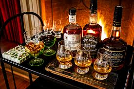 how to host a holiday whiskey tasting party