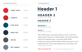 Style Guide Template Word How To Create A Web Design Style Guide Designmodo