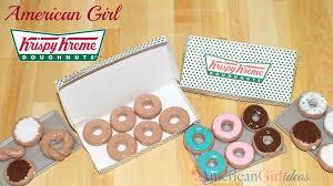 diy american girl kri kreme donuts