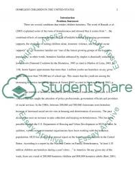 homelessness and children mock concept paper research homelessness and children mock concept paper essay example