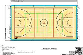sport court dimensions. Modren Dimensions Court Markings U0026 Recommended Dimensions To Sport D