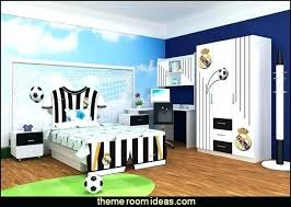 soccer themed bedroom. Modren Soccer Decorations For Bedrooms Soccer Theme Bedroom Peachy Ideas  Decor Perfect Decorating Small  And Themed A