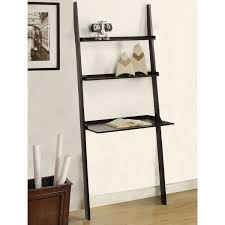 image ladder bookshelf design simple furniture. Amazon.com: Mintra Black Finish 3-Tier Laptop Book Shelf: Kitchen \u0026 Dining Image Ladder Bookshelf Design Simple Furniture O