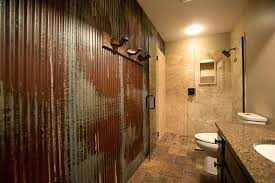 corrugated metal bathroom walls appealing tin shower wall schedule a rugged man style kids room decor corrugated metal
