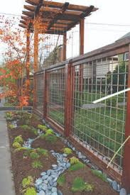 diy welded wire fence. Noe House {Front Fence} | Dioxua Cow / Hog Panel Fencing W/ Wood Posts + Framing Diy Welded Wire Fence