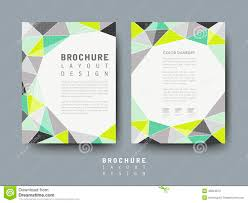 geometric style flyer template for business stock vector image modern geometric style flyer template stock photos