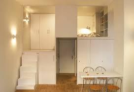 Loft Studio Apartment 300 Square Foot Micro Studio Loft Apartment With Space Saving
