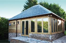 home office garden building. Oak Chalets, Contemporary Garden Rooms - Room, Office, Studio, Gym, A Home Music Spa Play Office Building