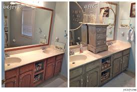 paint kitchen cabinets before and afterBathroom Painted Cabinets Before And After  ideas