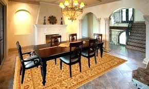 dining room rugs size under table rugs for dining table what size rug to use for